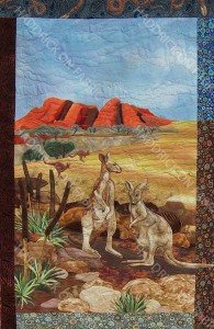 Red Roos at the Olgas