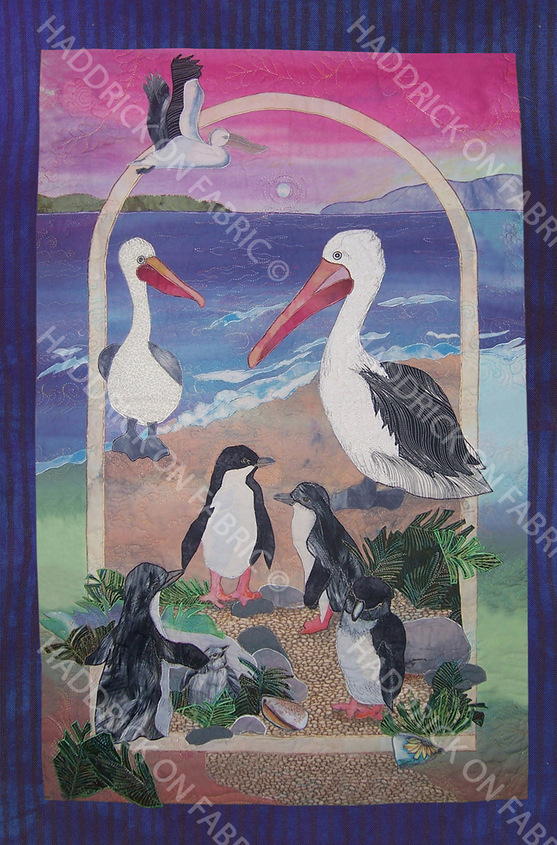 PELICANS AND PENGUINS