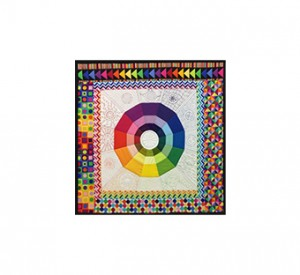 Colour wheel Col For Quilters with a modern twist
